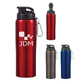 Promotional 24 oz Stainless Steel Bike Bottle