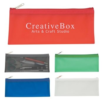 Promotional Zippered Pencil Case
