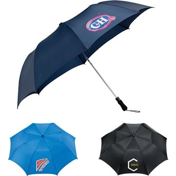 Promotional 58 Auto Open Folding Golf Umbrella
