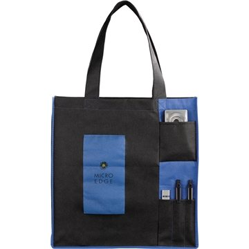 Promotional PolyPro Non - Woven Pocket Tote