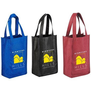 Promotional Orchard Breeze 2- Bottle Wine Bag