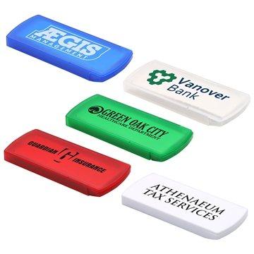 Promotional Slide Right Bandage Dispenser With Starter Bandages