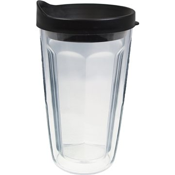 Promotional 16 oz Thermal Travel Tumbler with Emblem