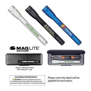 Promotional M3A Mini Mag - Lite 2AAA, Full Color Digital