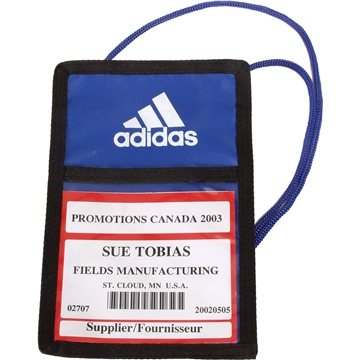 Promotional Trade Show Badge Pouch Iv