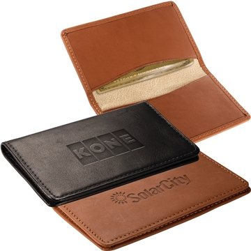 Promotional Alpine Card Case (Sueded Full - Grain Leather)