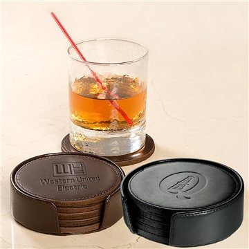 Promotional Lincoln Center Round Coaster Set