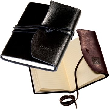 Promotional Americana Leather - Wrapped Journal