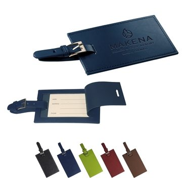 Promotional Whitney Rectangular Luggage Tag