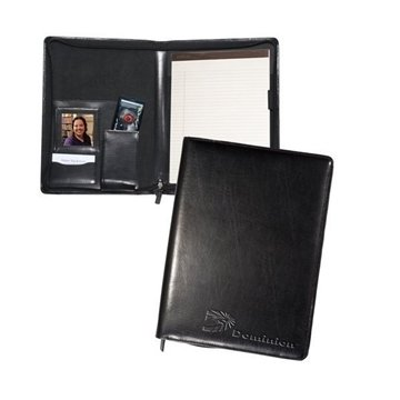 Promotional Zippered Magnetic Photo Portfolio