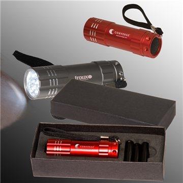 Promotional pocket-9-led-torch