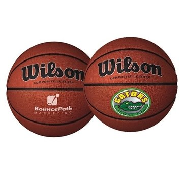 Promotional Wilson(R) Composite Leather Basketball