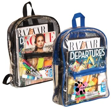 Promotional libertyi-clear-pvc-backpack