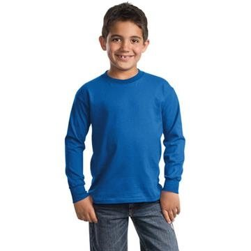 Promotional Port Company Youth Long Sleeve Essential T - Shirt