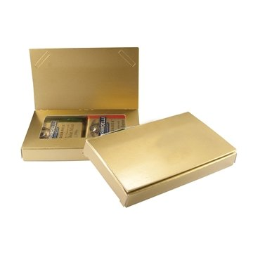 Promotional Business Card Holder w / Ghiradelli Squares