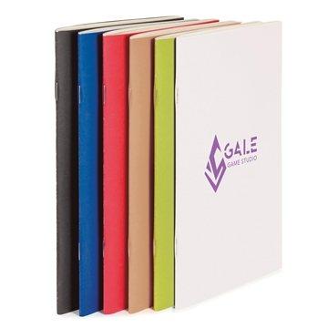 Promotional ECO Saddle - Stitched Notebook 6 x 9