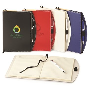 Promotional Bradford Refillable Journal Combo - 6 3/4 x 8 1/2