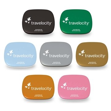 Promotional Hinged Tin Filled with Gum