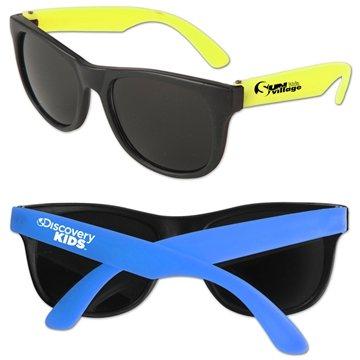 Promotional Junior Neon Sunglasses