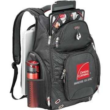 Promotional Elleven Amped Checkpoint - Friendly Compu - Backpack