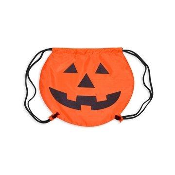 Promotional Pumpkin Drawstring Backpack