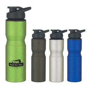 Promotional 28 oz Aluminum Sports Bottle