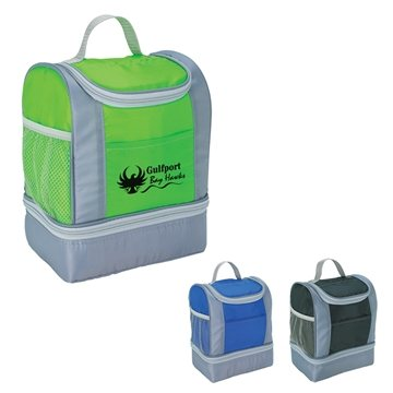 Promotional Two - Tone Insulated Lunch Bag
