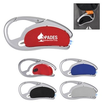 Promotional LED Light With Pen And Carabiner