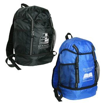 Promotional Trail Loop Drawstring Backpack