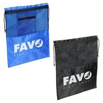 Promotional Solelo Travel Drawstring Shoe Bag