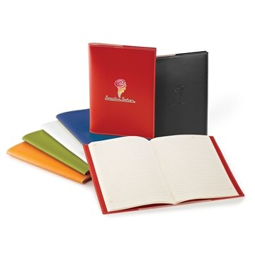 Promotional Bradford Vinyl Cover Refillable Notebook - 6 1/2 x 9 3/8