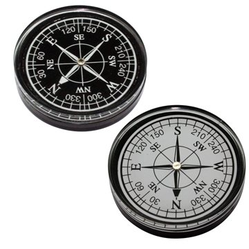 Promotional large-compass-black-or-white