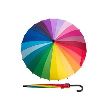 Promotional MoMA Color Spectrum Umbrella Stick
