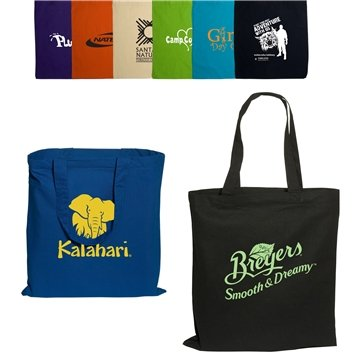 Promotional Pedestrian Tote 6 Oz. Cotton