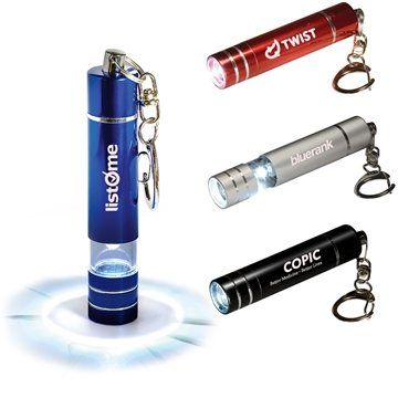 Promotional Micro 1 LED Torch / Key Light