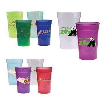 Promotional 17 oz. Sun Fun Stadium Cup, Full Color Digital