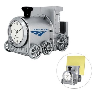 Promotional Train Clock