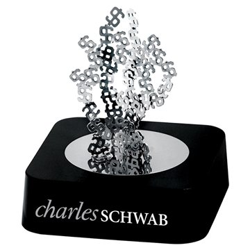 Promotional Dollar Sign Magnetic Sculpture Block
