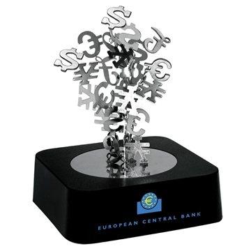Promotional Magnetic International Dollar Sign Sculpture Block