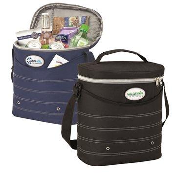 Promotional oval-cooler-bag