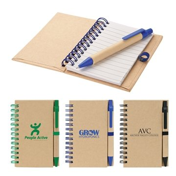 Promotional recycled-notebook-pen