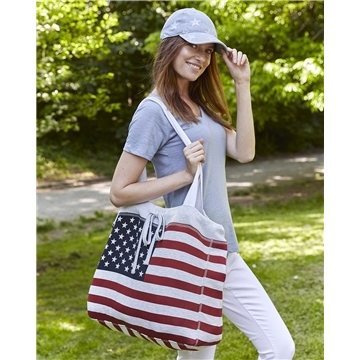 Promotional Weatherproof Pro - Weave Beachcomber Bag