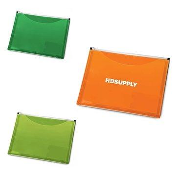 Promotional Zip - It Travel Pocket Portfolio