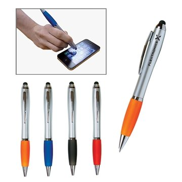 Promotional Emissary Twist Duo Pen Stylus For Touch Screen