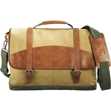 Promotional Cutter Buck Legacy Cotton Compu - Messenger Bag