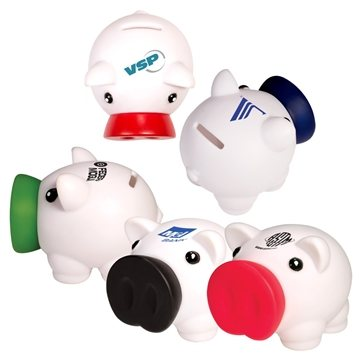 Promotional piggy-coin-bank