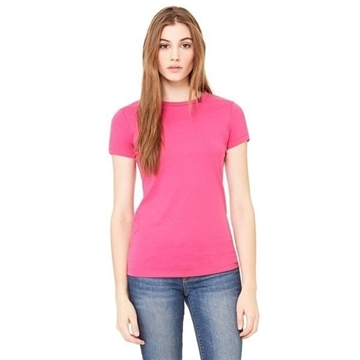 Promotional Bella Poly - Cotton Short - Sleeve T - Shirt