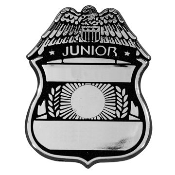 Promotional police-badge