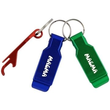 Promotional Bottle Opener Keyring Keychain
