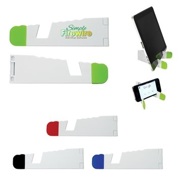 Promotional V - Fold Tablet And Phone Stand